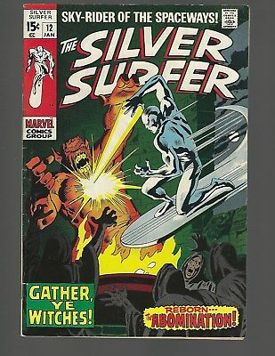 Silver Surfer #12 The Abomination