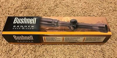Bushnell Banner 3-9x 40mm Rifle Scope