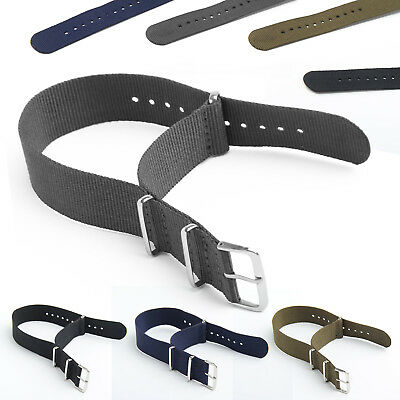 NATO Watch Strap Band Military Army Nylon Divers G10 Mens 18mm 20mm 22mm UK