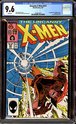 Uncanny X-Men 221 CGC 9.6 NM+  1st Appearance of Mr. Sinister