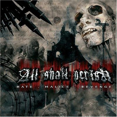 All Shall Perish	Hate Malice Revenge CD ( DEATH METAL)