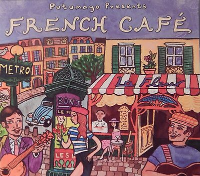 Putumayo Presents: French Cafe by Various Artists (CD 2003, Putumayo) VG++9/10