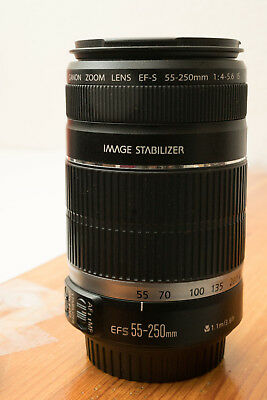 Canon EF-S 55-250mm f/4-5.6 IS II Telephoto Zoom Lens DSLR