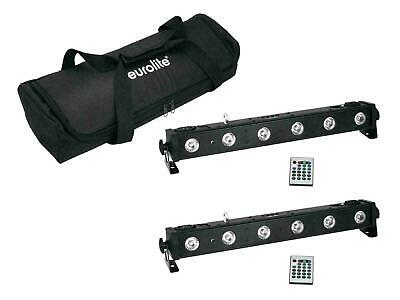 EUROLITE Set 2x LED BAR-650 + Soft-Bag LED Lichtanlagen Set