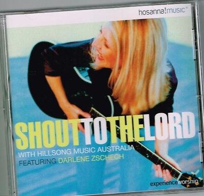"""""""SHOUT TO THE LORD"""" Brand New CD HILLSONG Praise & Worship with Darlene Zschech"""