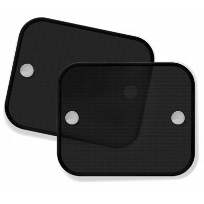 UNIVERSAL BLACK Car window Sun shades Screen Mesh for Kids Children 46cm x 36cm