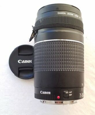 Canon 75-300mm f/4-5.6 III Telephoto Zoom Lens for Canon SLR Cameras