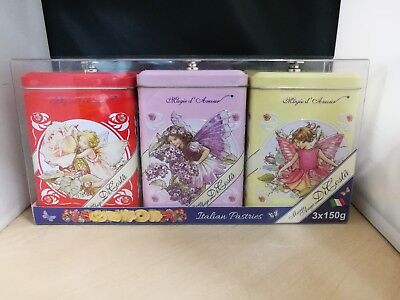 MARIE ANGE DI COSTA BISCUITS AND TIN 150G SHORT PASTRY BISCUITS XMAS GIFT ITALY