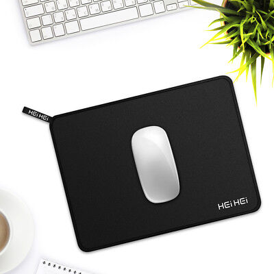 Black Gaming Mouse Pad Anti Slip Gel Mat Mouse Mice Pad Computer PC Laptop Soft