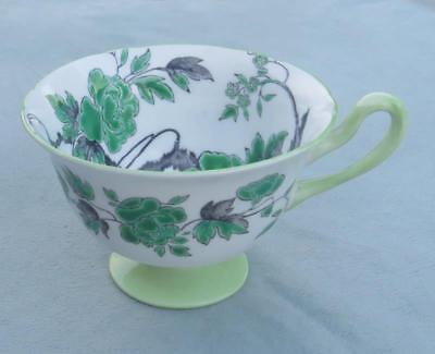 Shelley Green Chippendale Cup  - No Saucer