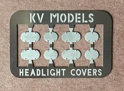 ETCHED SD45 LOW STYLE PILOT PLATES W//MU HOSE LOOPS HO SCALE KV MODELS KV-134H