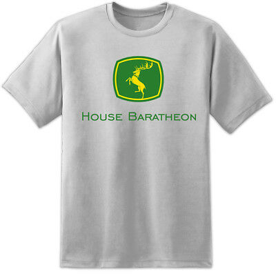 Mens Game Of Thrones House Baratheon Deere Dire Wolf Stark Khaleesi T Shirt Snow