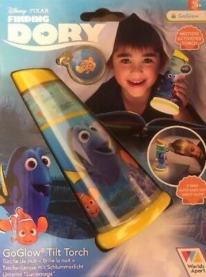 Finding Dory - GoGlow - Tilt Torch And Night Light Disney Pixar Motion Activated