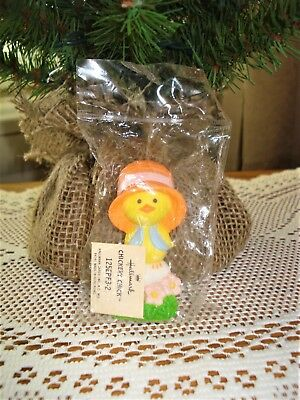 1977 Rare Hallmark *CHICK ON EGG* Easter Merry Miniature ~New in sealed package