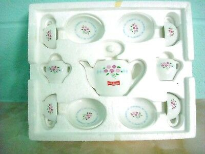 Vintage Little Debbie Advertising Toy 1997 Hostess Heirloom 12 Piece Tea Set