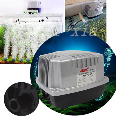 High-Power Industrial Aquarium Oxygen Air Pump Pond Aerator 1500L/H EU Plug