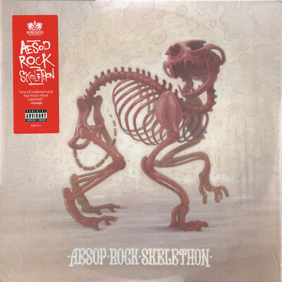 Aesop Rock - Skelethon - 2 x 180 Gram Vinyl LP & Download *NEW & SEALED*