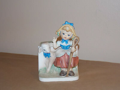 Vintage Velco Mary Had a Little Lamb Planter