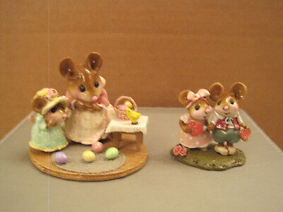 Wee Forest Folk M-330b Ltd. Easter Surprise! and Young Love (Valentine)