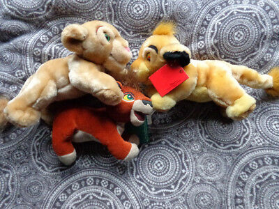 disney lion king plushies simba nala kovu