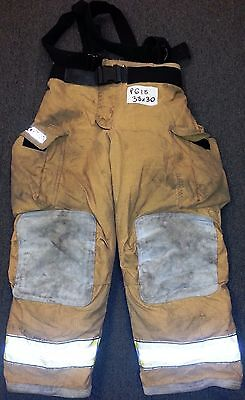 38x30 Pants Firefighter Turnout Bunker Fire Gear w/ Liner Globe Gxtreme P618