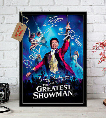 The Greatest Showman 2017 Hugh Jackman Autographed Signed Movie Photo Print