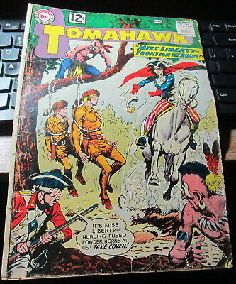 Tomahawk Comic Book 12C No.81 1962 July-August