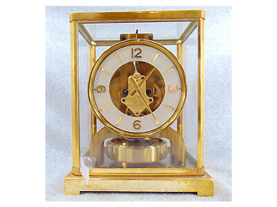 SWISS LE COULTRE ATMOS 15 JEWEL MANTEL CLOCK 526-5 1950's