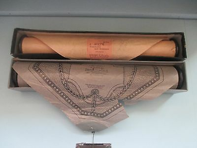 2 Vintage Pianola Music Sheet Rolls, Full Scale Themodist, Mendelssohn