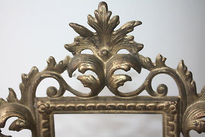Pair Victorian Ornate Metal Picture Frames Numbererd 118