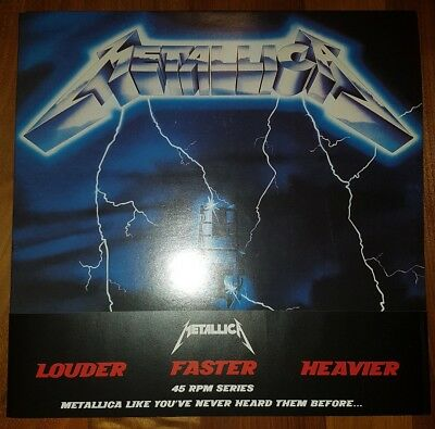 "NM-(!) METALLICA - Ride The Lightning 2x12""Vinyl Album 180g 45rpm Universal 2008"