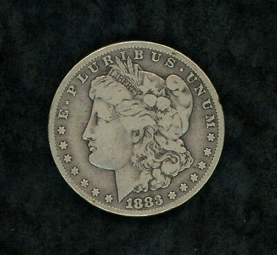 1883 Cc Morgan Silver Us $1 One Dollar