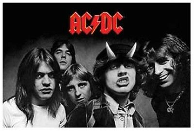 AC/DC - Poster - Highway Band-22x34 - Licensed NEW in Plastic Rolled
