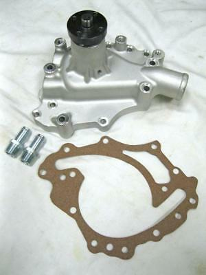 Ford 351C 351M 400M Plain Aluminum High Volume Water Pump Clockwise Rotation