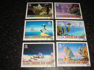 Isle of Man - 2016 - Islands and Bridges. The Art of Roger Dean - Set of 6