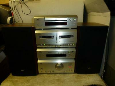 JVC F3000 Great Separate Component Stereo System With Speakers-Superb Quality