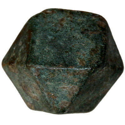 Museum Quality Roman Bronze Polygonal Weight Circa 300 Ad