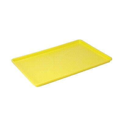Winco FFT-1826YL Plastic Tray, 18-Inch by 26-Inch, Yellow 1 New