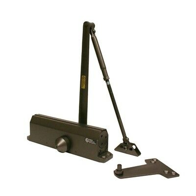 Heavy Duty Commercial Door Closer Bronze, Size 1-4 Adjustable