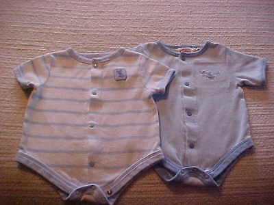 2 Rompers size 3 to 6 Month Baby Connection Brand