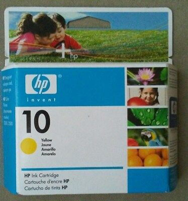 HP 10 Ink Cartridge - Yellow - C4842A - Brand New In Unopened Package