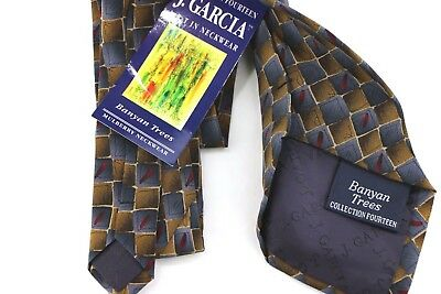 Jerry Garcia Limited Edition Collection 14 Banyan Trees Men's Silk Neck Tie SB1
