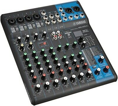YAMAHA 10 channel mixing console MG 10 XU from japan F/S