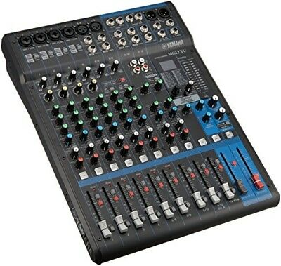 YAMAHA 12 channel mixing console MG12XU from japan F/S