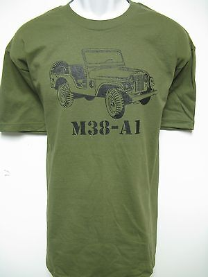 Military Vehicle/ Willys Jeep M38-A1/ Big Front Print/   New