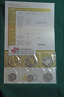 2018 Canada Brilliant Uncirculated set - IN STOCK - all the traditional designs