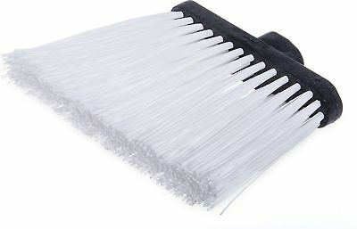 """Carlisle 3686802 Duo-Sweep UnFlagged Angle Broom Head, 8"""", White (Pack of... New"""