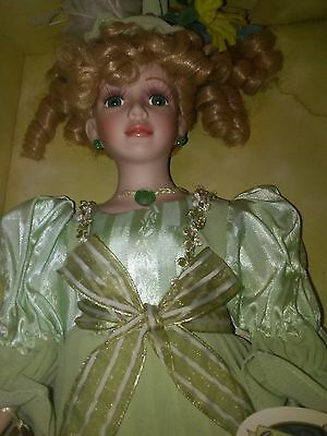 Collectible Memories Genuine Porcelain Doll  (Mary)