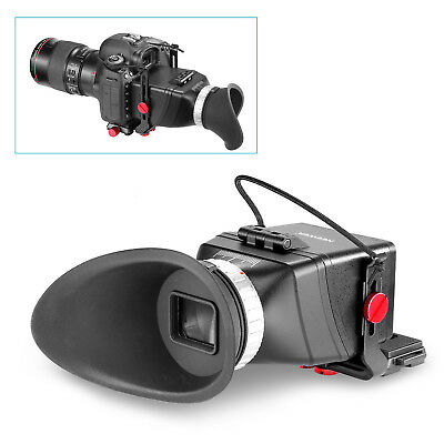 Neewer 3X Magnification LCD Viewfinder with Flip-Up Eyepiece and Extend Bracket