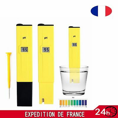 PH Testeur Électronique Digital Hydroponique Poche Pen-PH Pour Aquarium Piscine